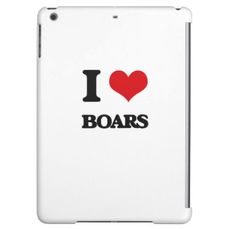 I Love Boars Case For iPad Air