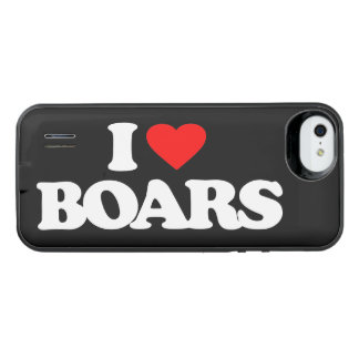 I LOVE BOARS UNCOMMON POWER GALLERY™ iPhone 5 BATTERY CASE