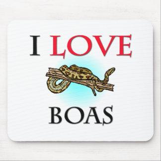 I Love Boas Mouse Mat