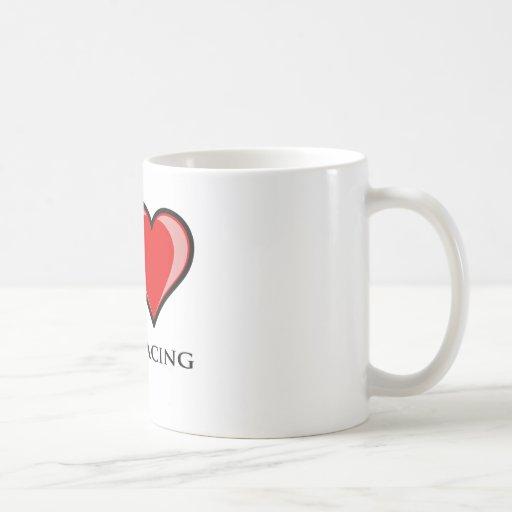 I Love Boat Racing Coffee Mug