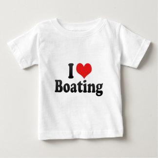 I Love Boating Shirt