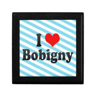 I Love Bobigny, France Keepsake Boxes