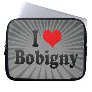 I Love Bobigny, France Laptop Sleeve