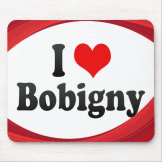 I Love Bobigny, France Mousepads