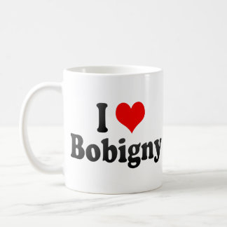 I Love Bobigny, France Coffee Mug