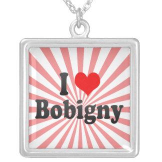 I Love Bobigny, France Necklace