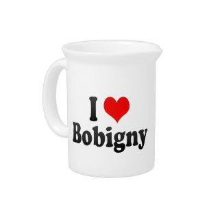 I Love Bobigny, France Pitcher