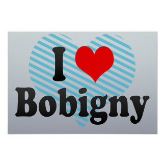 I Love Bobigny, France Poster