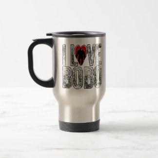I Love Bobo 15 Oz Stainless Steel Travel Mug