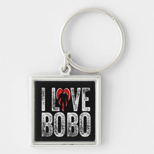I Love Bobo Keychains