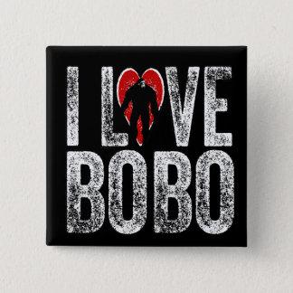 I Love Bobo Pinback Button