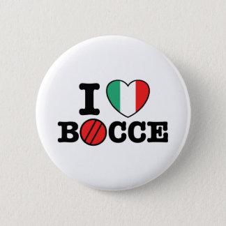 I Love Bocce Button