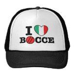 I Love Bocce Hat