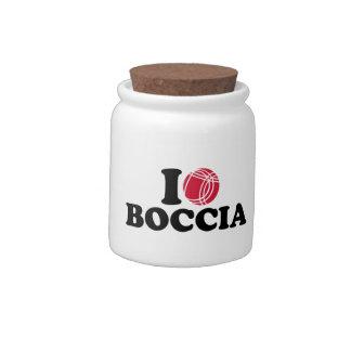 I love Boccia Boule Candy Jars