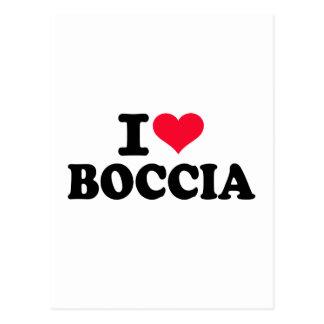 I love boccia postcard