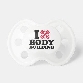 I love Bodybuilding barbells Pacifier