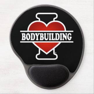 I Love Bodybuilding Gel Mouse Pad