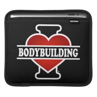 I Love Bodybuilding iPad Sleeve