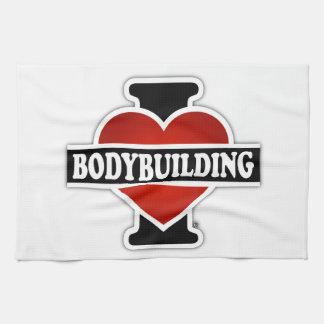 I Love Bodybuilding Towels