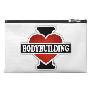 I Love Bodybuilding Travel Accessory Bag