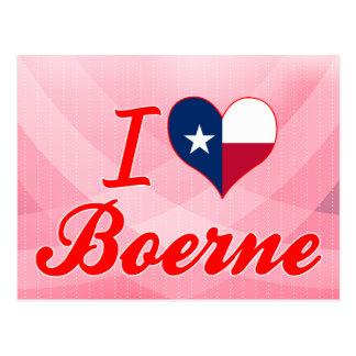 I Love Boerne, Texas Postcard