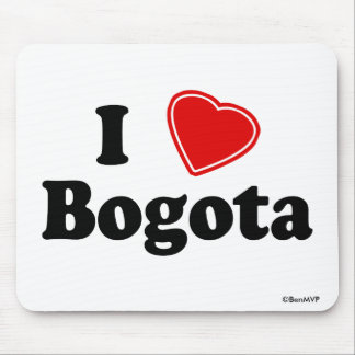 I Love Bogota Mouse Pad