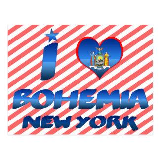 I love Bohemia, New York Post Cards