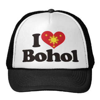I Love Bohol Trucker Hat