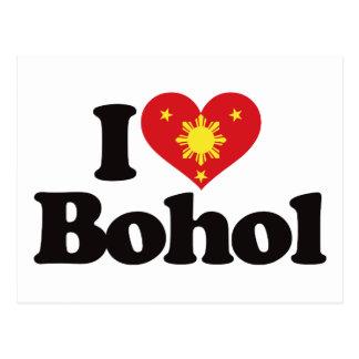 I Love Bohol Post Cards