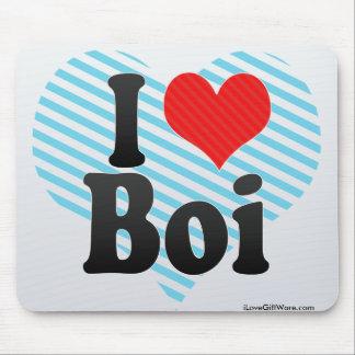 I Love Boi Mousepads