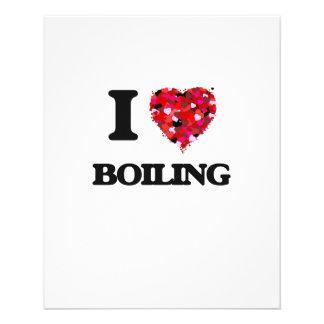 "I Love Boiling 4.5"" X 5.6"" Flyer"
