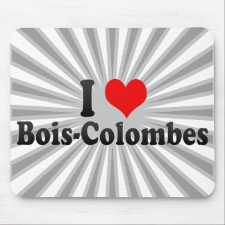I Love Bois-Colombes France Mouse Pads