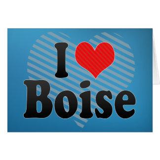 I Love Boise Card