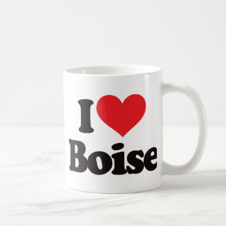 I Love Boise Coffee Mug