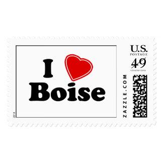 I Love Boise Postage
