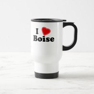 I Love Boise Travel Mug