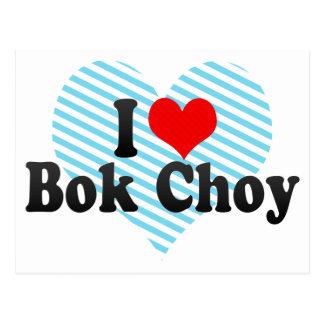 I Love Bok Choy Postcard