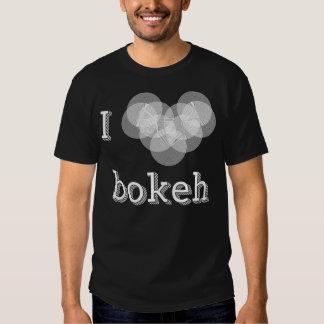 I Love Bokeh T Shirts