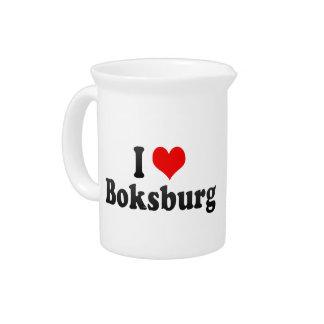 I Love Boksburg, South Africa Pitcher