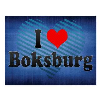 I Love Boksburg, South Africa Postcard