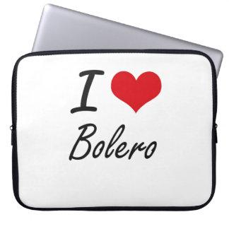 I Love BOLERO Computer Sleeves