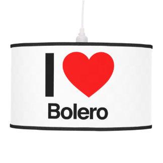 i love bolero pendant lamps