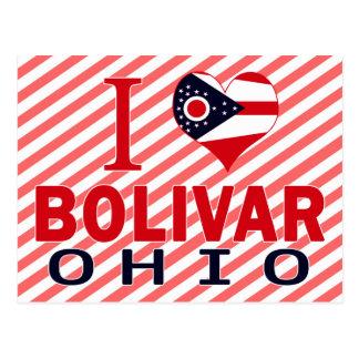 I love Bolivar, Ohio Postcard