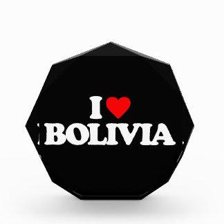 I LOVE BOLIVIA AWARD
