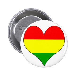 I Love Bolivia Pin