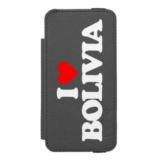 I LOVE BOLIVIA iPhone SE/5/5s WALLET CASE