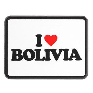 I LOVE BOLIVIA TOW HITCH COVER