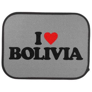 I LOVE BOLIVIA FLOOR MAT