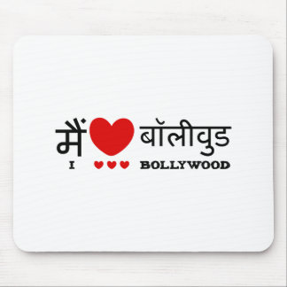 I Love Bollywood Mouse Pad