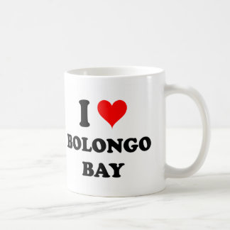 I Love Bolongo Bay Classic White Coffee Mug